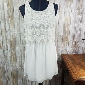 Papillon crochet bodice dress
